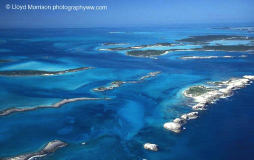 Exuma%20Cays%20Bahamas%20from%20the%20air - The wonderful world of coral reefs  - Science and Research
