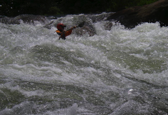 Double Suck on the Lower Ocoee River, Tennessee
