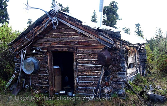 Cabin in Wrangell St. Elias National Park