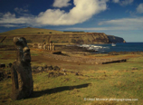Ahu Tongariki and Bay Easter Island
